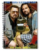 The Dude Abides, The Big Lebowski Spiral Notebook