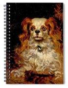 The Duke Of Marlborough. Portrait Of A Puppy Spiral Notebook