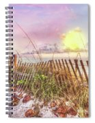 The Dunes In Watercolors Spiral Notebook