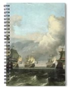 The Dutch Fleet Of The India Company Spiral Notebook