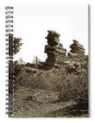The Dutchmangarden Of The Gods, Colorado Spiral Notebook