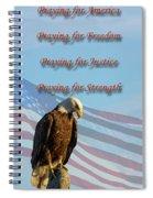 The Eagles Prayer Spiral Notebook