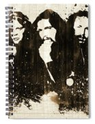 The Eagles Rustic Spiral Notebook