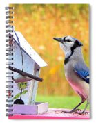 The Early Bird Special Spiral Notebook