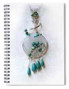 The Earth And Sky And Sea Spiral Notebook