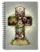 The Easter Cross Spiral Notebook