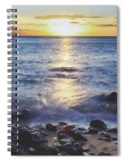The Ebb And Flow Spiral Notebook