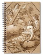 The Ecstasy Of St Mary Magdalene Spiral Notebook