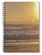The Edge Of The Earth Spiral Notebook