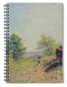 The Edge Of The Forest Spiral Notebook