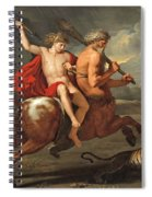 The Education Of Achilles Spiral Notebook