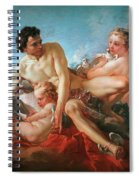 The Education Of Cupid Spiral Notebook