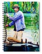 The Eel Catcher Spiral Notebook