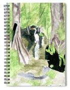 The Egret Spiral Notebook