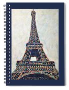 The Eiffel Tower Spiral Notebook