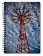 The Eiffel Tower Of Brooklyn Spiral Notebook