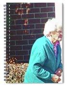 The Elderly Woman Spiral Notebook