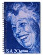 The Eleanor Roosevelt Stamp Spiral Notebook