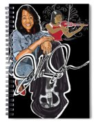 The Electric Violinist Spiral Notebook