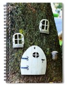 The Elf House Spiral Notebook