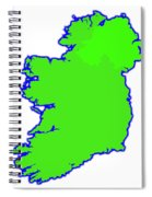 The Emerald Isle Spiral Notebook