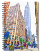 The Empire State Building 5 Spiral Notebook