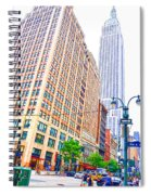 The Empire State Building 6 Spiral Notebook