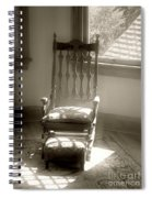 The Empty Chair Spiral Notebook