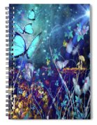 The Enchanted Garden Spiral Notebook