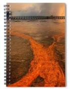 The Enchantment Of Grand Prismatic Spring Spiral Notebook