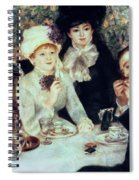 The End Of Luncheon Spiral Notebook