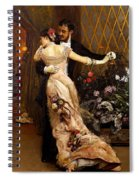 The End Of The Ball Spiral Notebook
