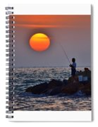 The End Of The Line Spiral Notebook