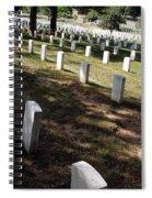 Arlington Tombstones Shade And Light Spiral Notebook