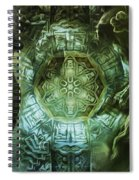 The Enigma Of Capricorn  Spiral Notebook
