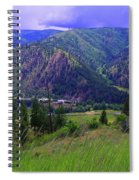 The Entiat Valley  Spiral Notebook