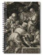 The Entombment  Spiral Notebook