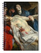 The Entombment Spiral Notebook