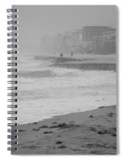 The Eroded Coast Spiral Notebook