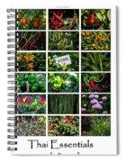 The Essential Thai Garden II Spiral Notebook