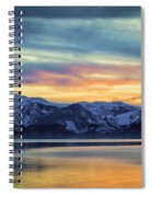 The Evening Colors Spiral Notebook