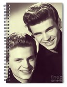 The Everly Brothers Spiral Notebook