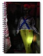 The Evil And The Clown. Spiral Notebook