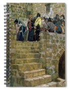 The Evil Counsel Of Caiaphas Spiral Notebook