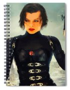 The Evolution Of Project Alice Spiral Notebook