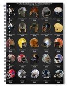 The Evolution Of The Nfl Helmet Spiral Notebook