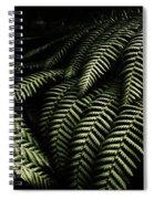 The Exotic Dark Jungle Spiral Notebook