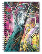 The Expulsion From Paradise Spiral Notebook