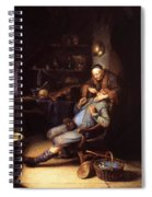 The Extraction Of Tooth 1635 Spiral Notebook