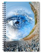 The Eye Of Nature 3 Spiral Notebook